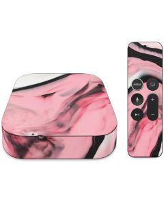 Pink Marble Ink Apple TV Skin