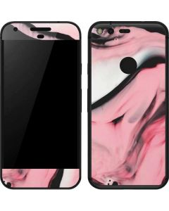 Pink Marble Ink Google Pixel Skin