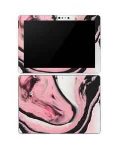 Pink Marble Ink Surface Go Skin