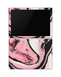 Pink Marble Ink Surface Pro 6 Skin