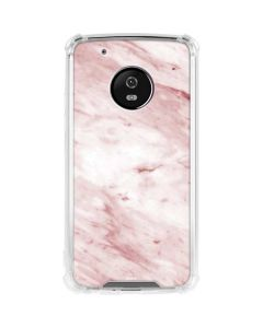 Pink Marble Moto G5 Plus Clear Case