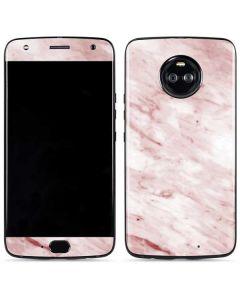 Pink Marble Moto X4 Skin