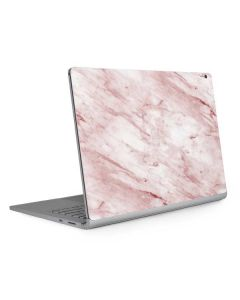 Pink Marble Surface Book 2 13.5in Skin