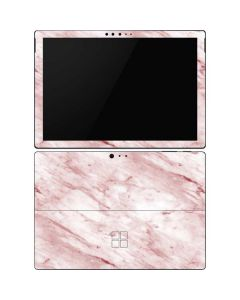 Pink Marble Surface Pro 6 Skin