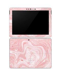 Pink Marbling Surface Go Skin