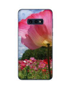 Pink Poppy Petals Galaxy S10e Skin