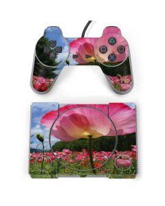 Pink Poppy Petals PlayStation Classic Bundle Skin
