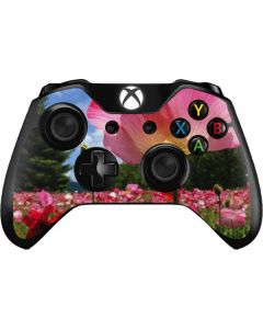 Pink Poppy Petals Xbox One Controller Skin