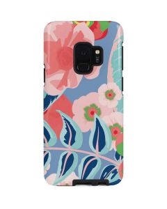 Pink Spring Flowers Galaxy S9 Pro Case