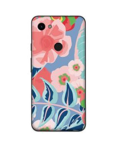 Pink Spring Flowers Google Pixel 3a Skin