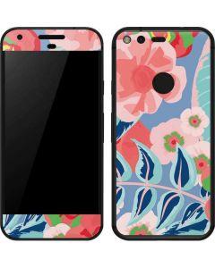 Pink Spring Flowers Google Pixel Skin
