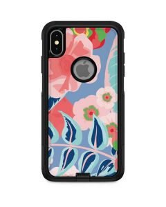 Pink Spring Flowers Otterbox Commuter iPhone Skin
