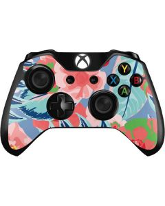 Pink Spring Flowers Xbox One Controller Skin