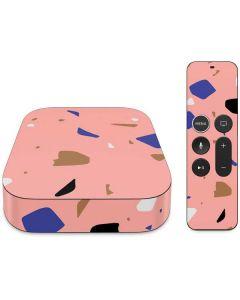 Pink Terrazzo Apple TV Skin