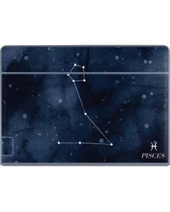 Pisces Constellation Galaxy Book Keyboard Folio 12in Skin