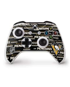 Pittsburgh Penguins Blast Xbox One S Controller Skin