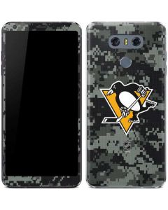 Pittsburgh Penguins Camo LG G6 Skin