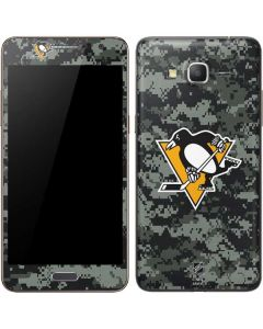 Pittsburgh Penguins Camo Galaxy Grand Prime Skin