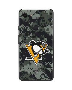 Pittsburgh Penguins Camo Google Pixel 3 XL Skin