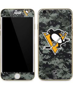 Pittsburgh Penguins Camo iPhone 6/6s Skin