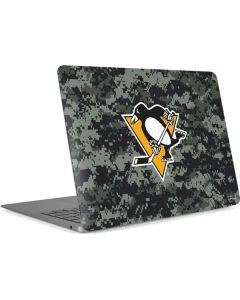 Pittsburgh Penguins Camo Apple MacBook Air Skin