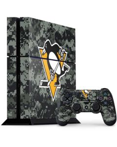 Pittsburgh Penguins Camo PS4 Console and Controller Bundle Skin