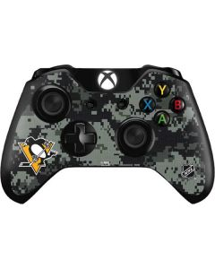 Pittsburgh Penguins Camo Xbox One Controller Skin