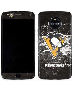 Pittsburgh Penguins Frozen Moto X4 Skin