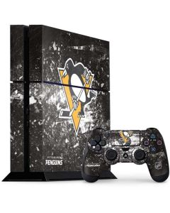 Pittsburgh Penguins Frozen PS4 Console and Controller Bundle Skin