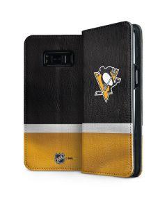 Pittsburgh Penguins Jersey Galaxy S8 Plus Folio Case