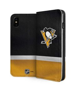 Pittsburgh Penguins Jersey iPhone XS Max Folio Case