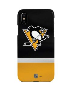 Pittsburgh Penguins Jersey iPhone XS Max Lite Case