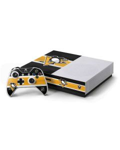 Pittsburgh Penguins Jersey Xbox One S Console and Controller Bundle Skin