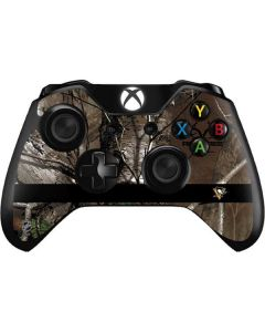 Pittsburgh Penguins Realtree Xtra Camo Xbox One Controller Skin