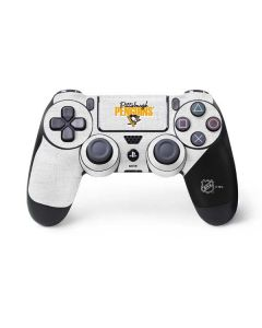 Pittsburgh Penguins Script PS4 Controller Skin
