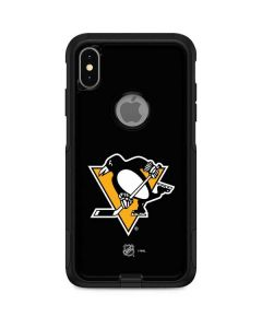 Pittsburgh Penguins Solid Background Otterbox Commuter iPhone Skin
