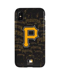 Pittsburgh Pirates - Cap Logo Blast iPhone X Pro Case
