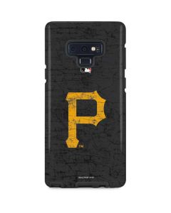Pittsburgh Pirates - Solid Distressed Galaxy Note 9 Pro Case