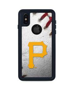 Pittsburgh Pirates Game Ball iPhone XS Waterproof Case