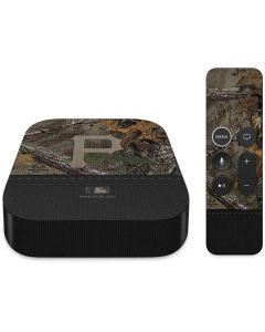 Pittsburgh Pirates Realtree Xtra Camo Apple TV Skin