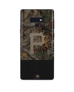 Pittsburgh Pirates Realtree Xtra Camo Galaxy Note 9 Skin