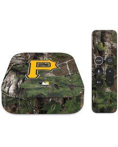 Pittsburgh Pirates Realtree Xtra Green Camo Apple TV Skin