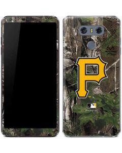 Pittsburgh Pirates Realtree Xtra Green Camo LG G6 Skin