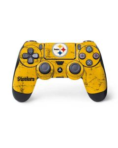 Pittsburgh Steelers - Alternate Distressed PS4 Controller Skin