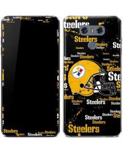 Pittsburgh Steelers - Blast Dark LG G6 Skin