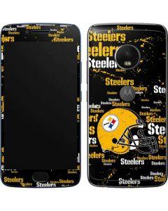 Pittsburgh Steelers - Blast Dark Moto G5 Plus Skin