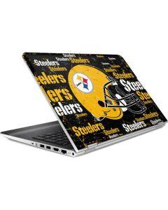Pittsburgh Steelers - Blast Dark HP Pavilion Skin