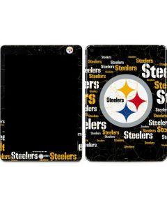 Pittsburgh Steelers Black Blast Apple iPad Skin