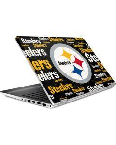 Pittsburgh Steelers Black Blast HP Pavilion Skin