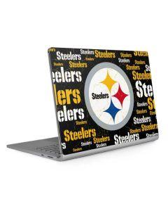 Pittsburgh Steelers Black Blast Surface Book 2 13.5in Skin